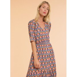 Robe imprimé floral - ELVIR MC