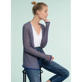 Top bohème en denim - ACHILE