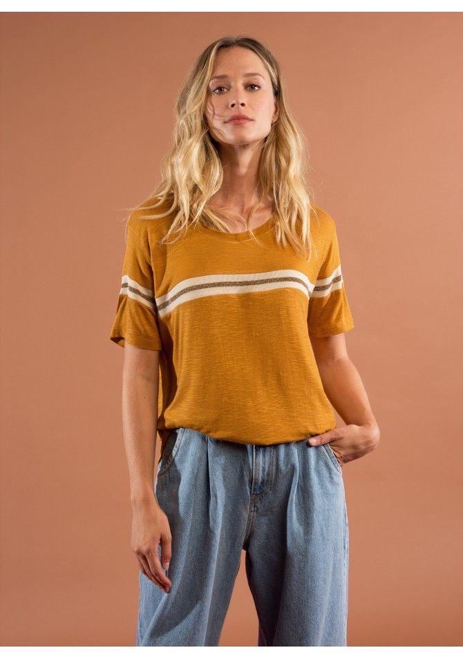 TUTTI37 T-shirt fantaisie à manches courtes ANGE