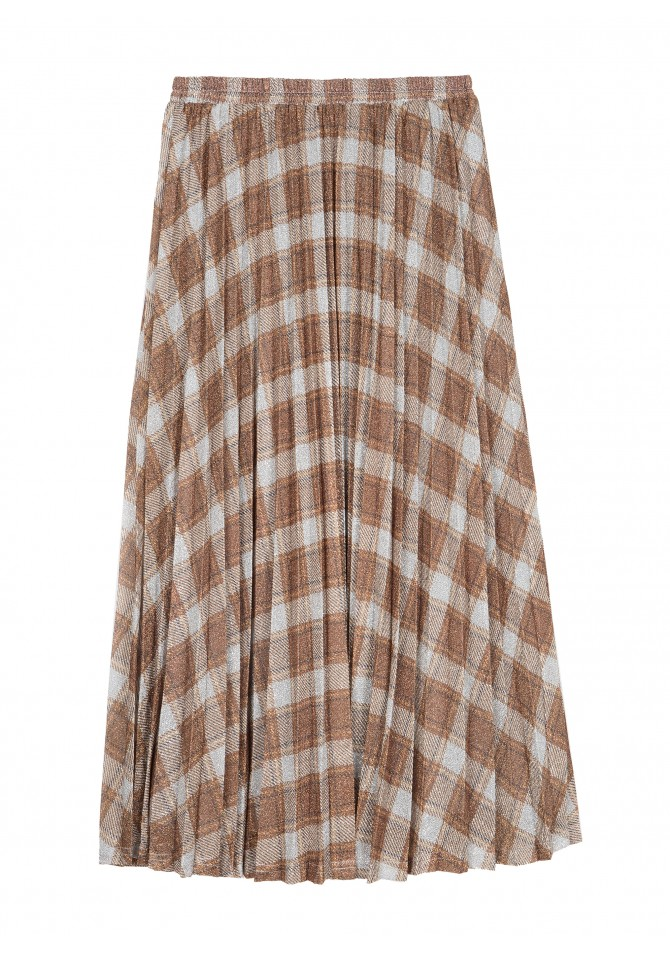 JELLY - Midi checked skirt - ANGE