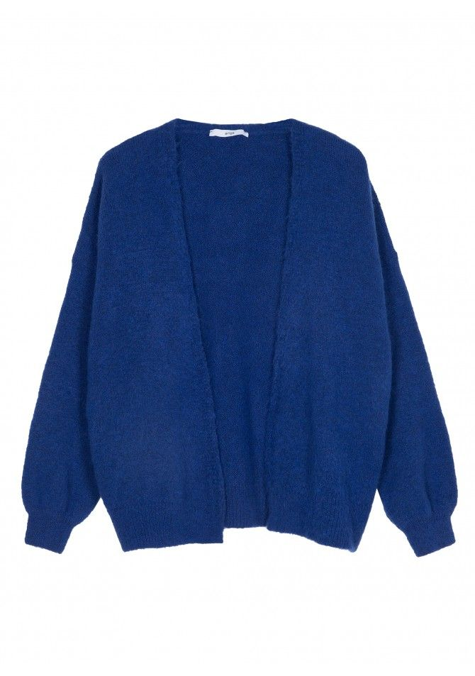 LASKO Cardigan with puffy sleeves - ANGE