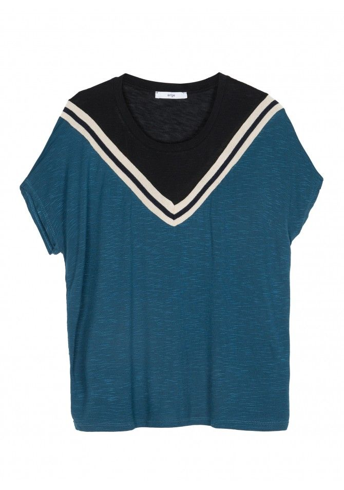 TAKIRA Short sleeves fancy t-shirt ANGE