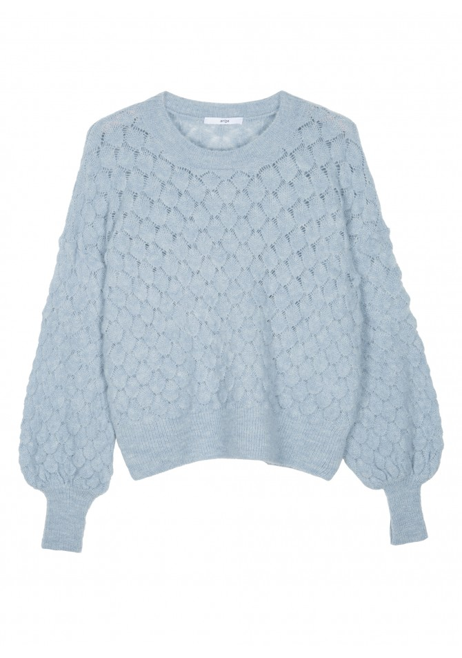 LEMON Fancy knit jumper with long sleeves ANGE