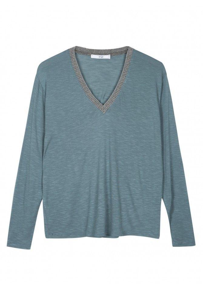 TANGERY Basic long-sleeved t-shirt ANGE