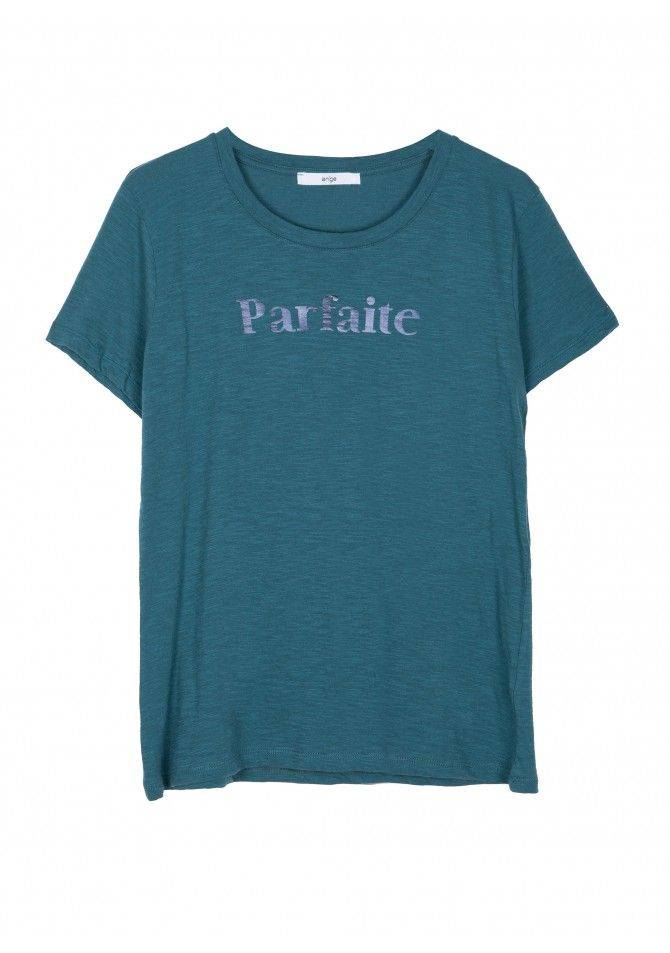 TEPARFAITET-shirt manches courtes imprimé Parfaite ANGE