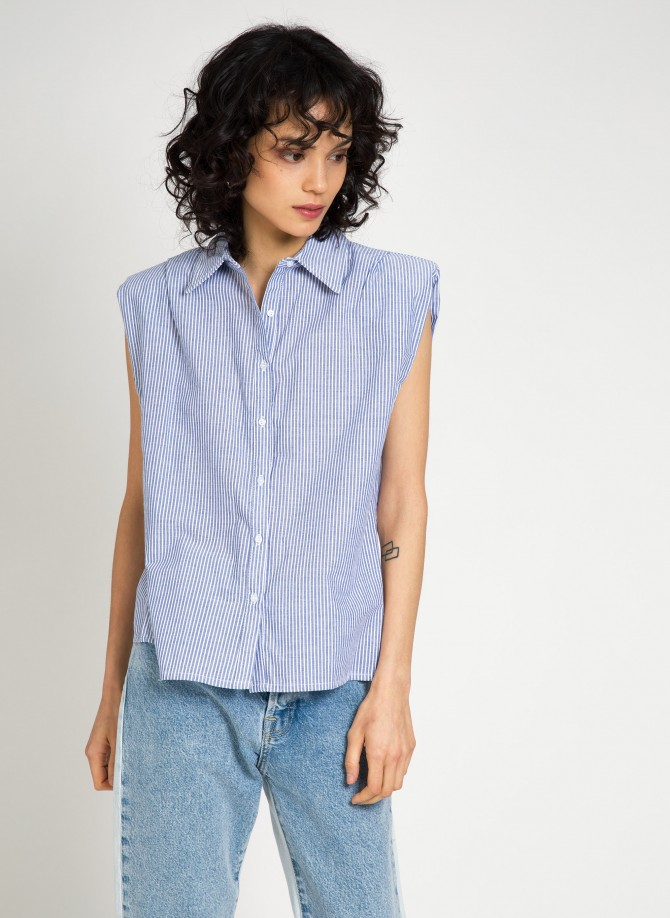 Sleeveless shirt AGHYTE