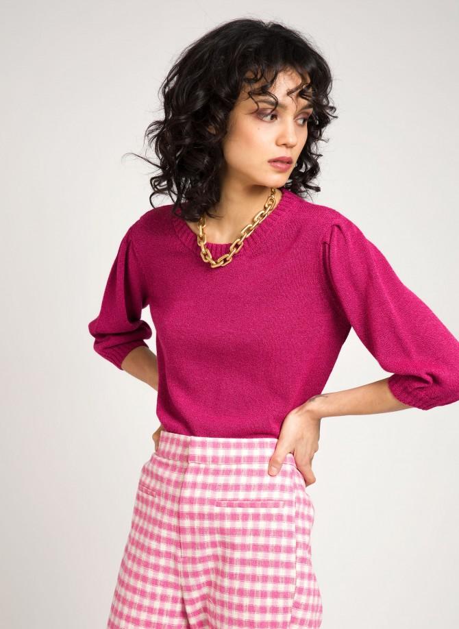 Knitted short jumper LORRAINE
