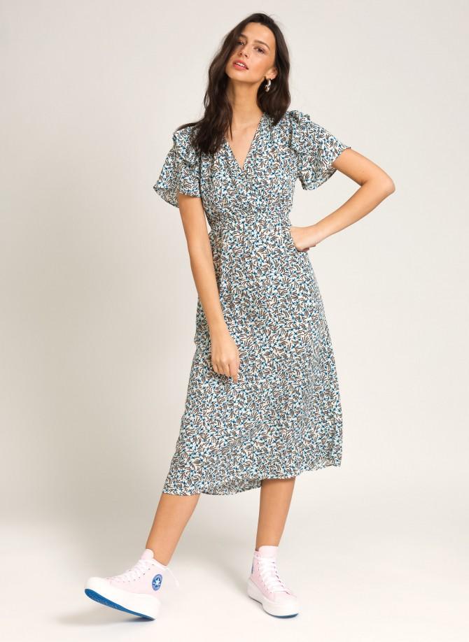 Printed midi dress MALISSA VL