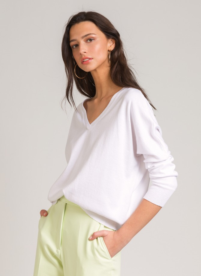 Loose-fitting knitted sweater LECASTILLON