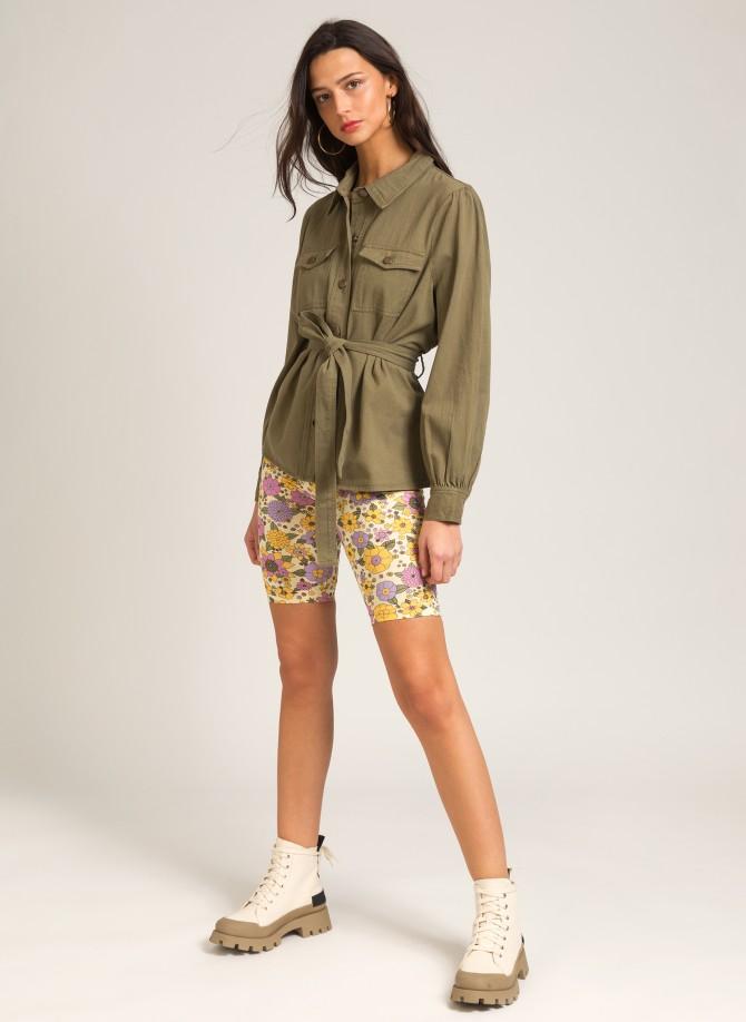 """Belted """"Saharan"""" jacket STEVE"""