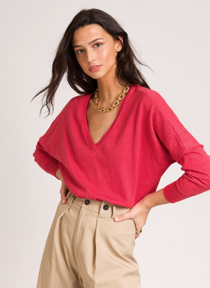Loose-fitting knitted...
