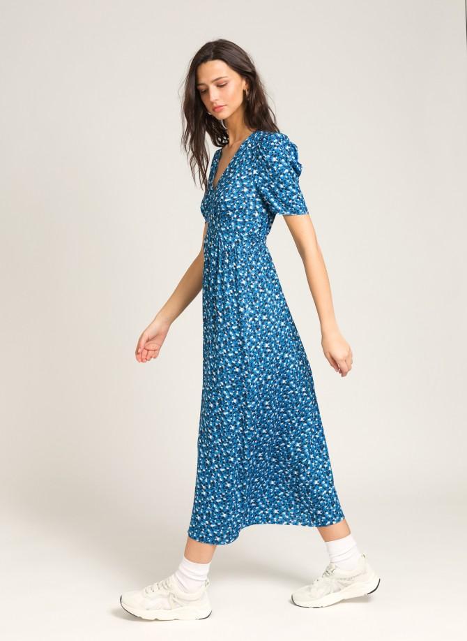Flared long dress  MAELLE
