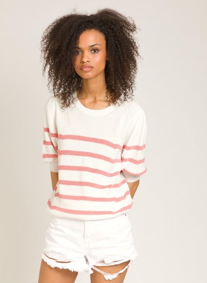 Striped knitted jumper LEDANA