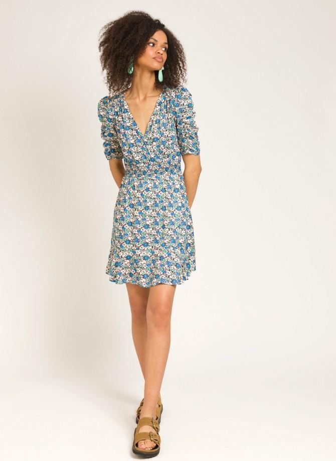 Short wrap dress OBBY