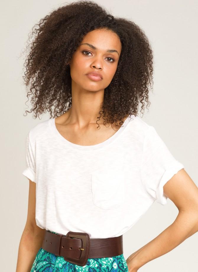 TALOHA Boat neck T-shirt