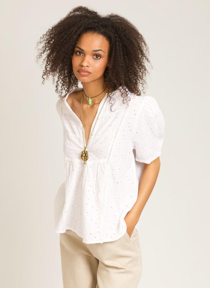 Loose cotton blouse SOL