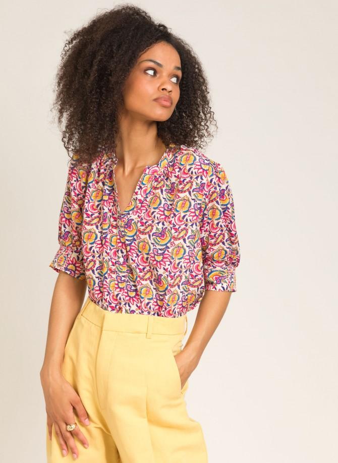 Lightweight printed blouse...