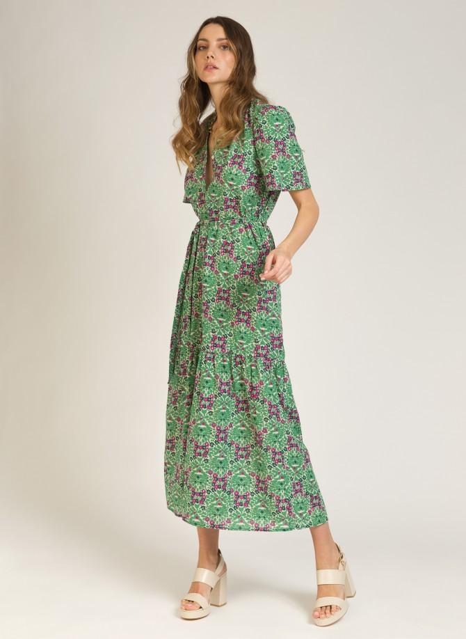 Long cotton dress  MALKO