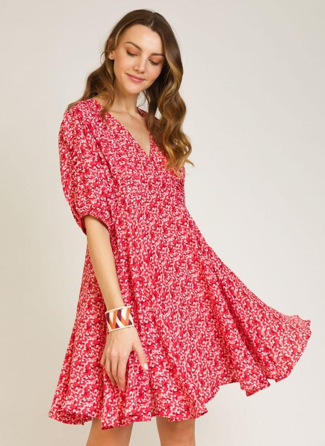 Short dress with short...