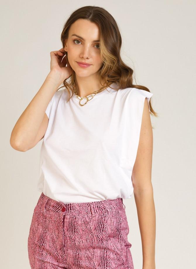 Sleeveless T-shirt  TANINA
