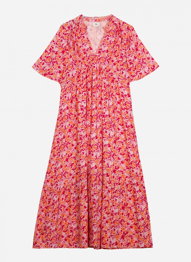 Long and fluid dress OLYVIANNE