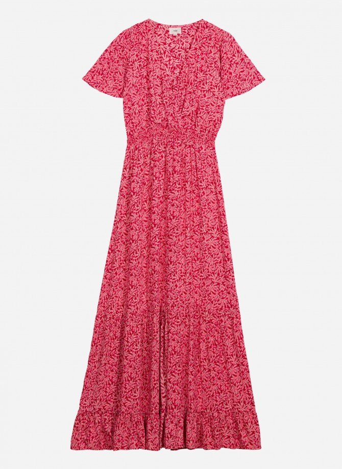 Printed long dress OXANE