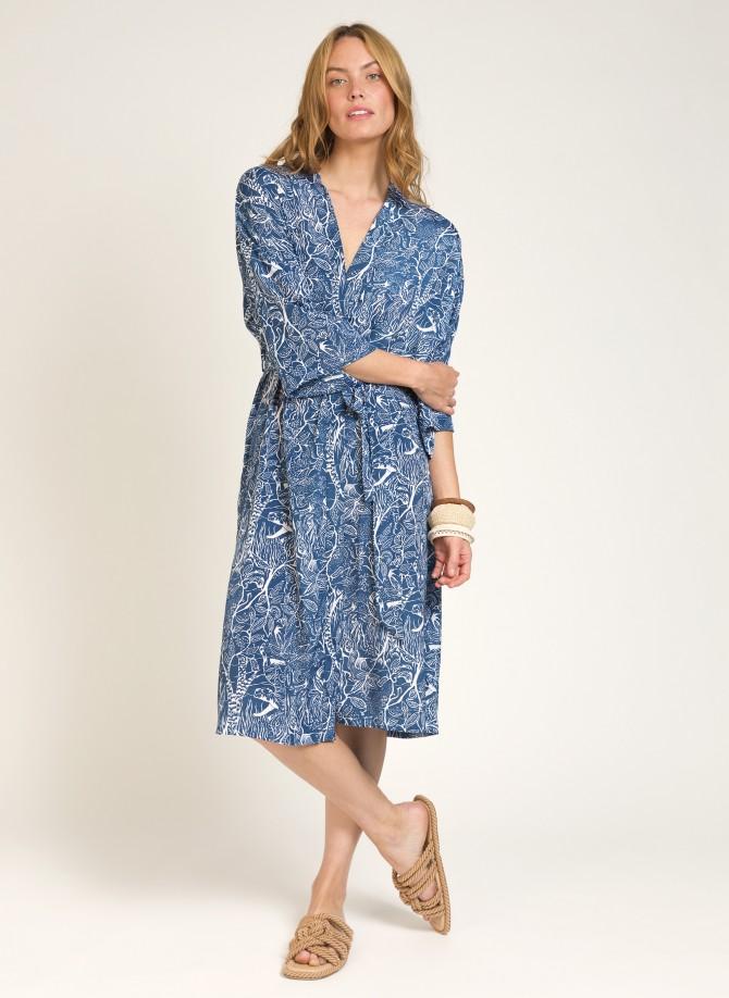 Kimono long imprimé SUNSET