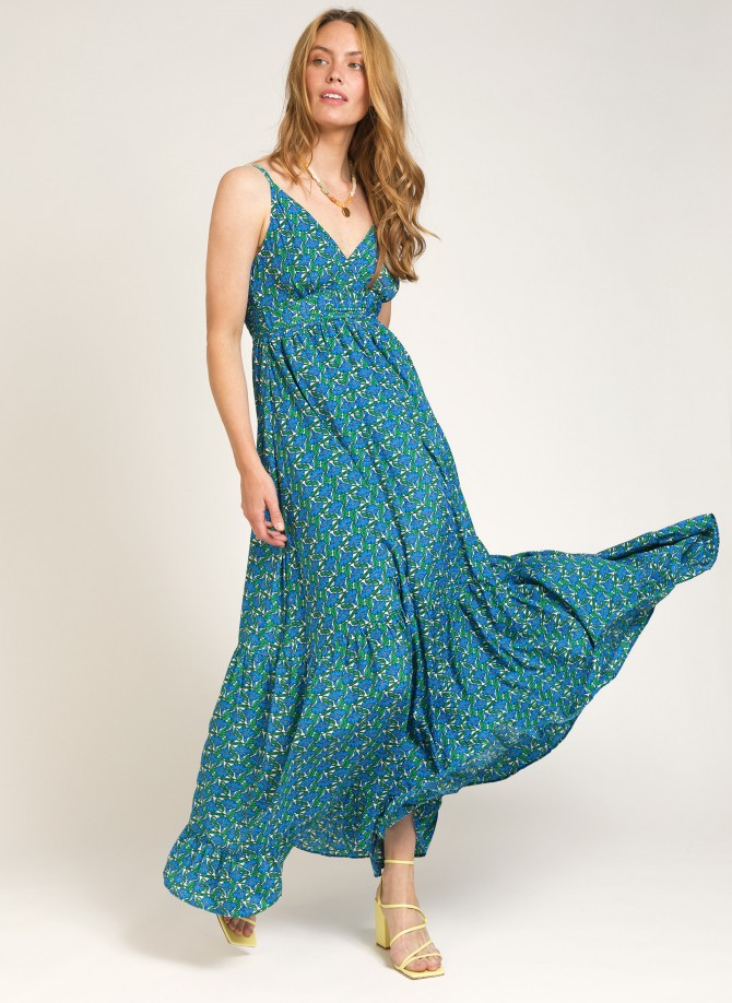 Long dress with thin straps...