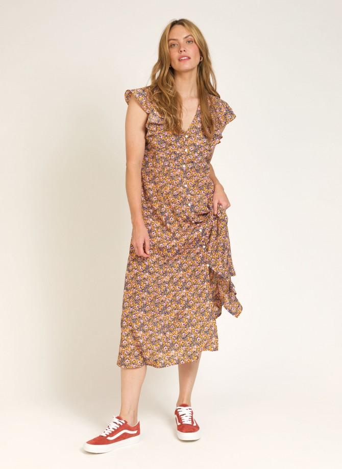 Long flowing dress ODYLE