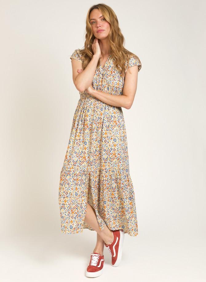 Long and fluid dress OCTAVIO
