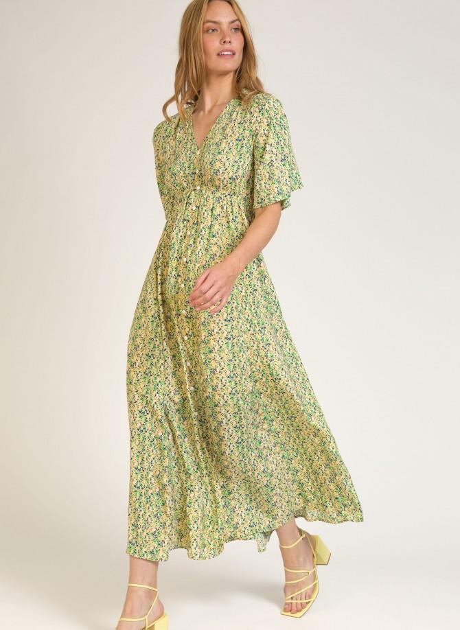 Long flared dress ORLANDO