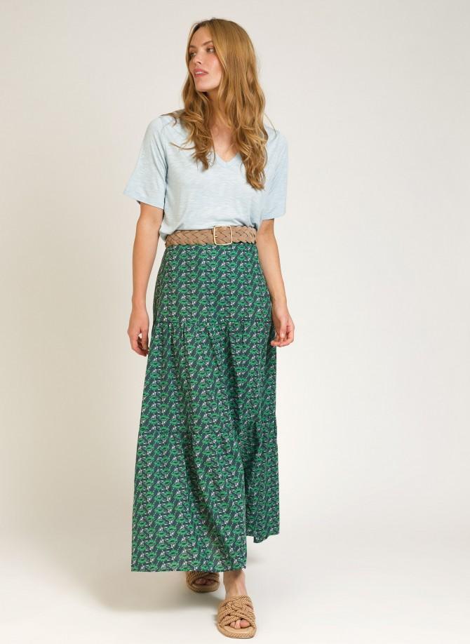 Long cotton skirt  GISELLE