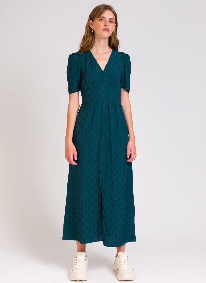 MAELIZ UNIE long flared dress
