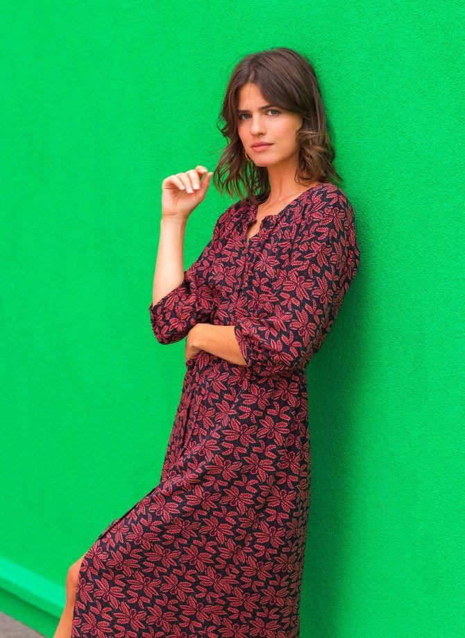 Long buttoned dress MARCELITO