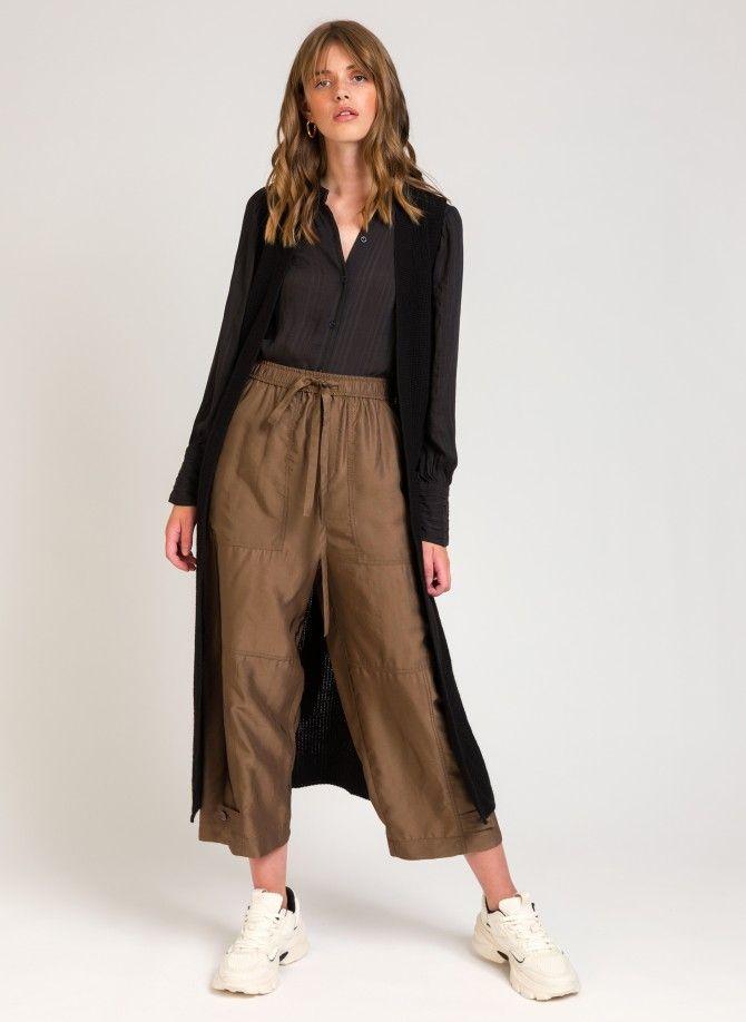 Long sleeveless cardigan LEROY