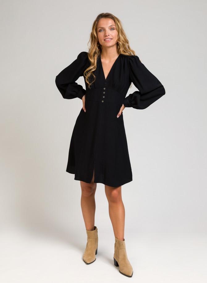 MOLLY UNI belted short dress