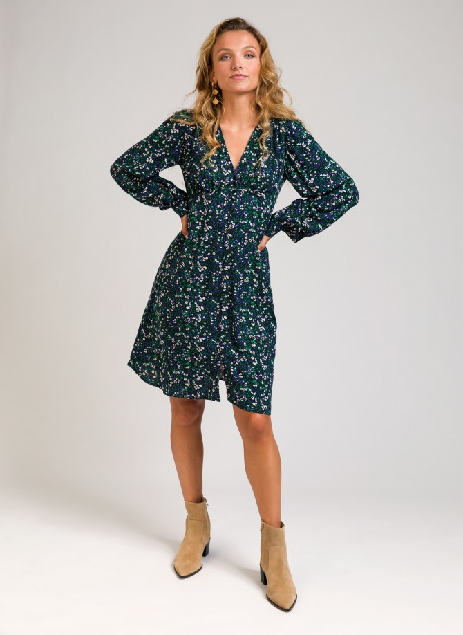 Belted short dress MOLLY
