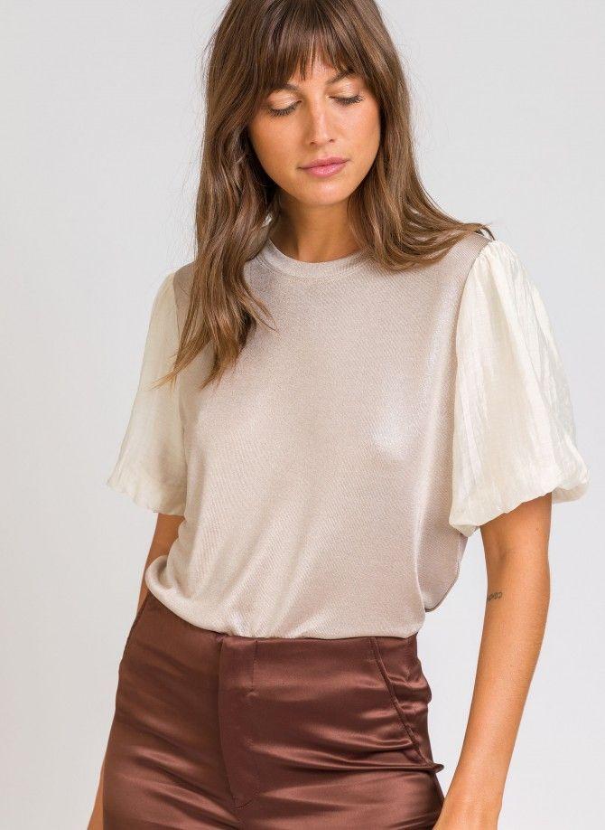 ALYSEO Bi-material T-shirt