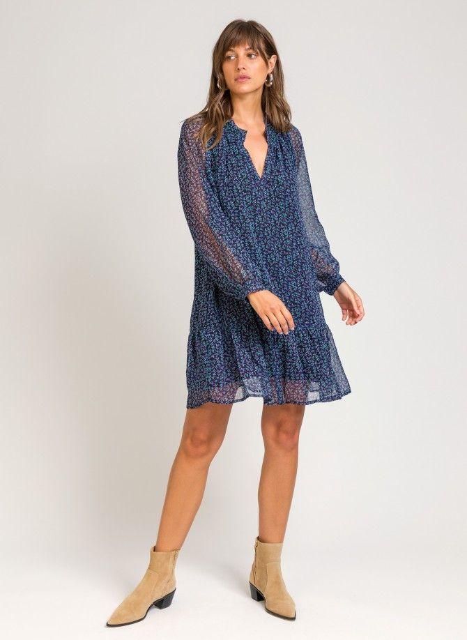 OHANNA short printed dress