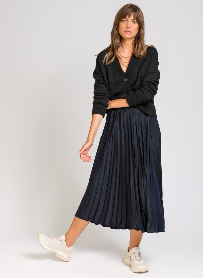 JACOME mid-length pleated...