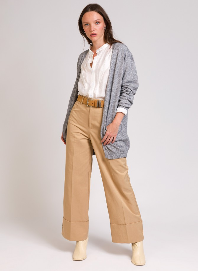 LEBAUDRY mid-length cardigan