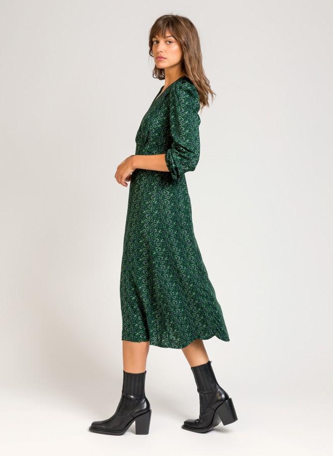 MAGGY printed long dress