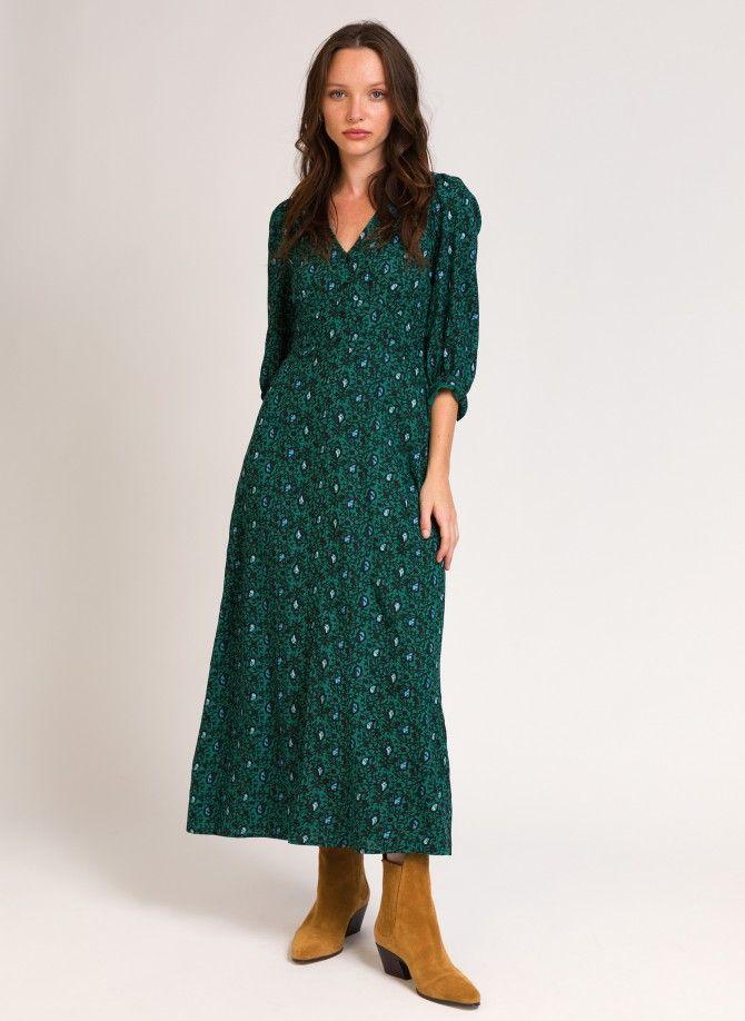 ORIAN printed long dress