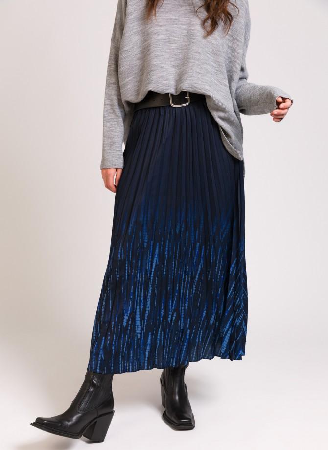JOYA Pleated Mid-Length Skirt