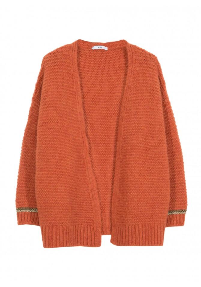 LESOLAR - open chunky jumper