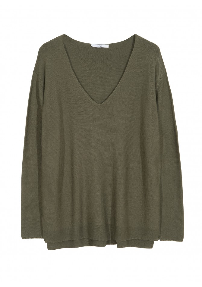 LEBLANCO - Light knit V-necklace jumper