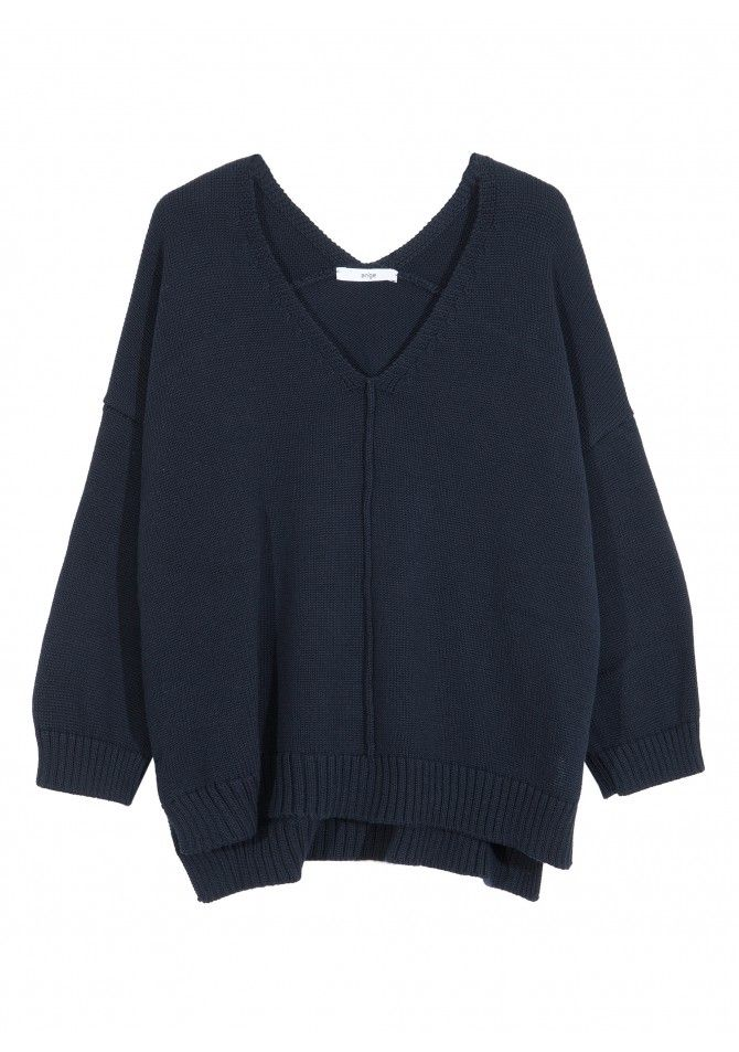 LEDREAM. - 3/4 sleeves coton blend jumper - ANGE