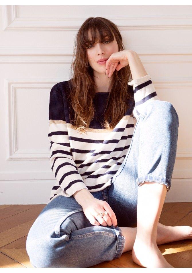LAMARINA - Breton style pullover - ANGE