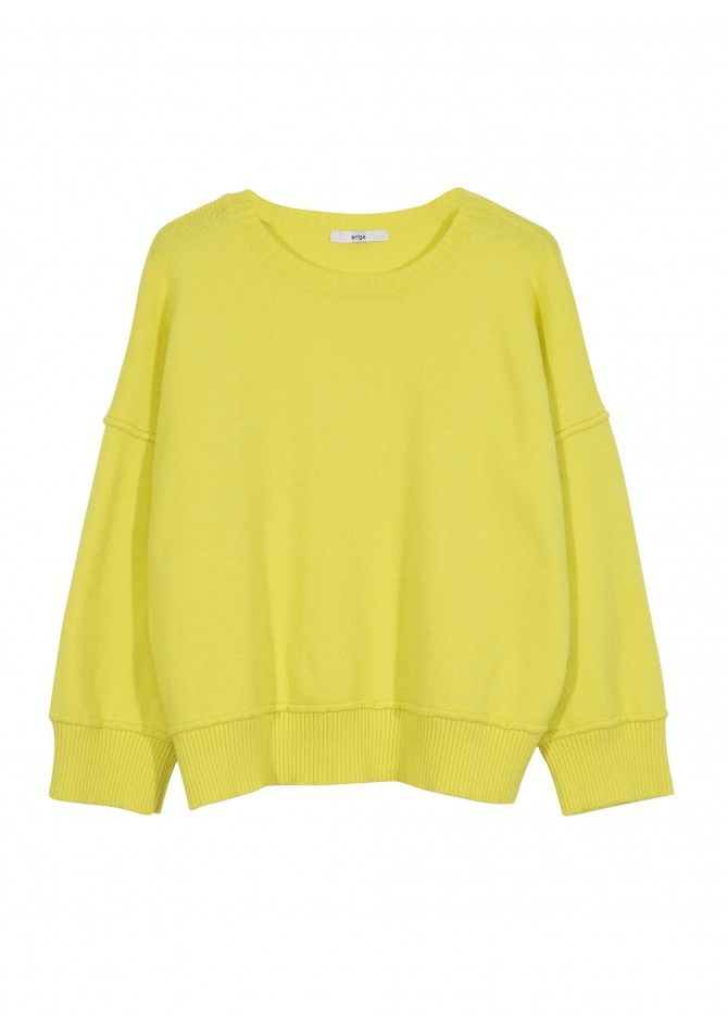 LEVINTAGE - Pull manches longues col rond - ANGE