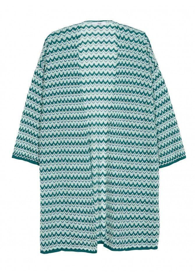 Light knit open cardigan - Reflect X Bari - ANGE